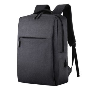 15.6 inch Laptop USB Backpack School Bag Anti Theft Men Travel Business Bag